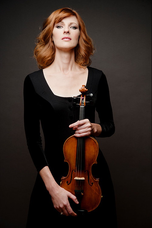 Holly Mulcahy; Concertmaster